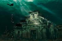 Green Pear Diaries, lugares abandonados, Shicheng, la Ciudad bajo el Agua, lago Quiandao, China