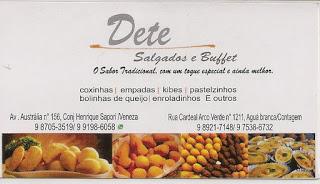DETE BUFFET E SALGADOS