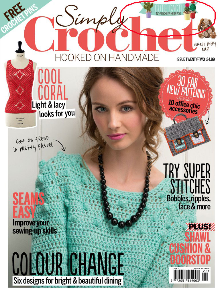 Feature in Simply Crochet