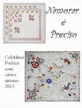 """Co-Autora na Antologia de Poesia """"Namorar é Preciso"""" - Ed. Autor de Maria Melo"""