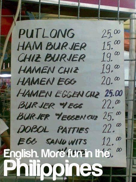 English more pun