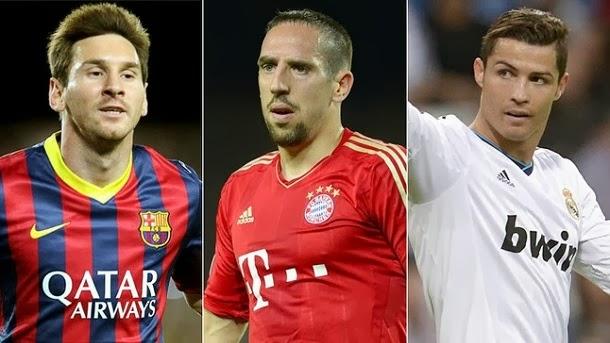Los jugadores de Barça, Bayern y Real Madrid se disputan el preciado galardón