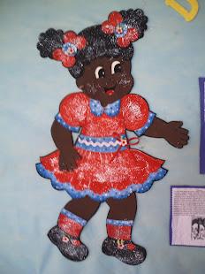 Menina Negra em E.V.A