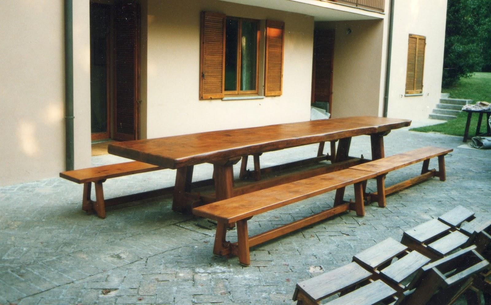 Gianfranco barili restauro e falegnameria tavolo da for Divisori da esterno