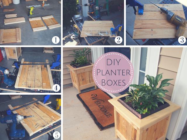DIY Ana White Planter Boxes | Whispering Whims