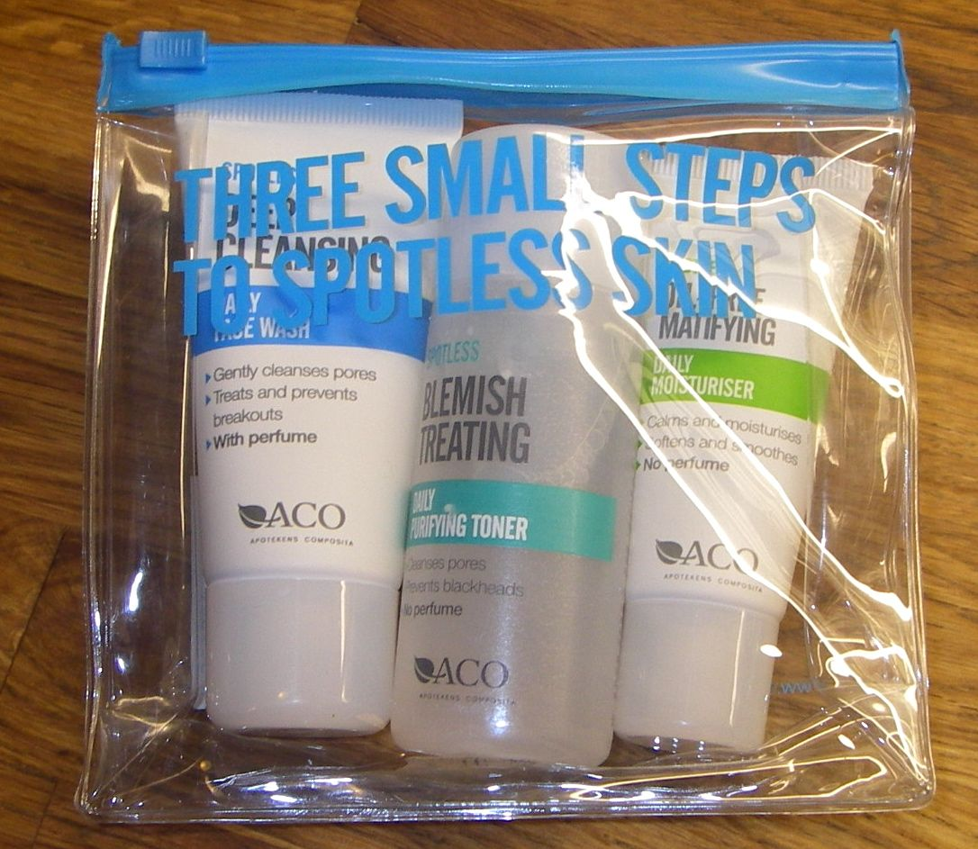 aco spotless overnight spot treatment review