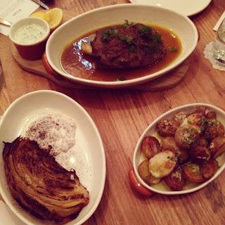 olea, electra house, adelaide, king william, greek, dinner, degustation, lamb, potatoes, cabbage