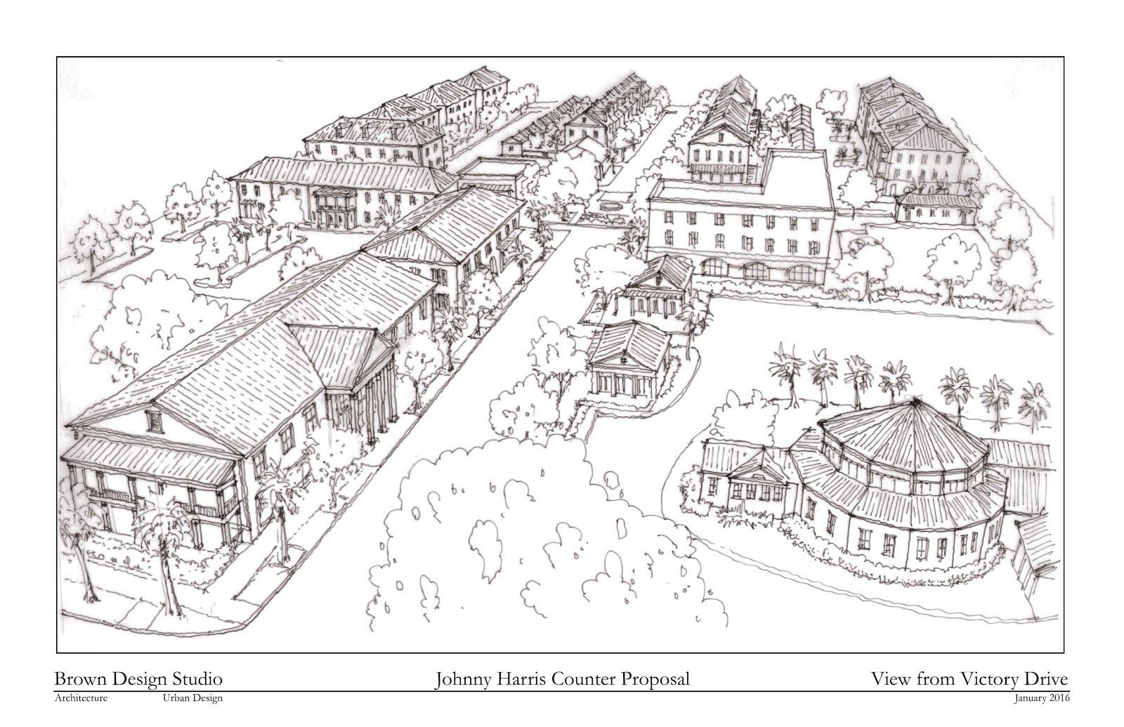 brown design studio architecture and urban design counter counter proposal the johnny harris site
