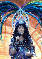Cher singing 'Woman's World' on her 'Dressed To Kill Tour'