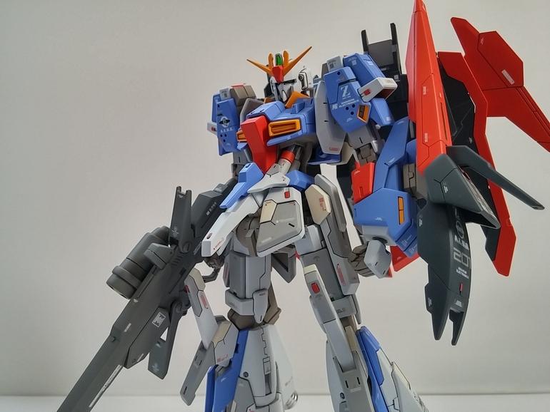 HGBF Lightning Zeta Gundam Real Grade Version
