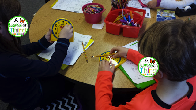 A Word On Third: Using judy clocks to teach telling time