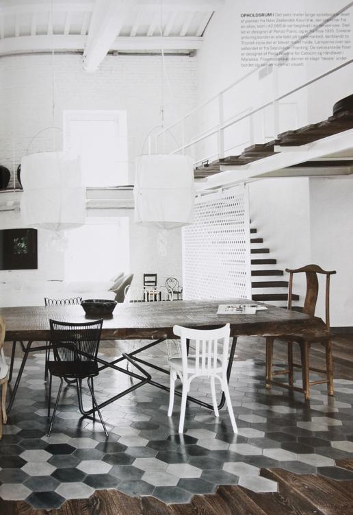 studio karin ett fantastiskt hem i vintage modern mix navone. Black Bedroom Furniture Sets. Home Design Ideas