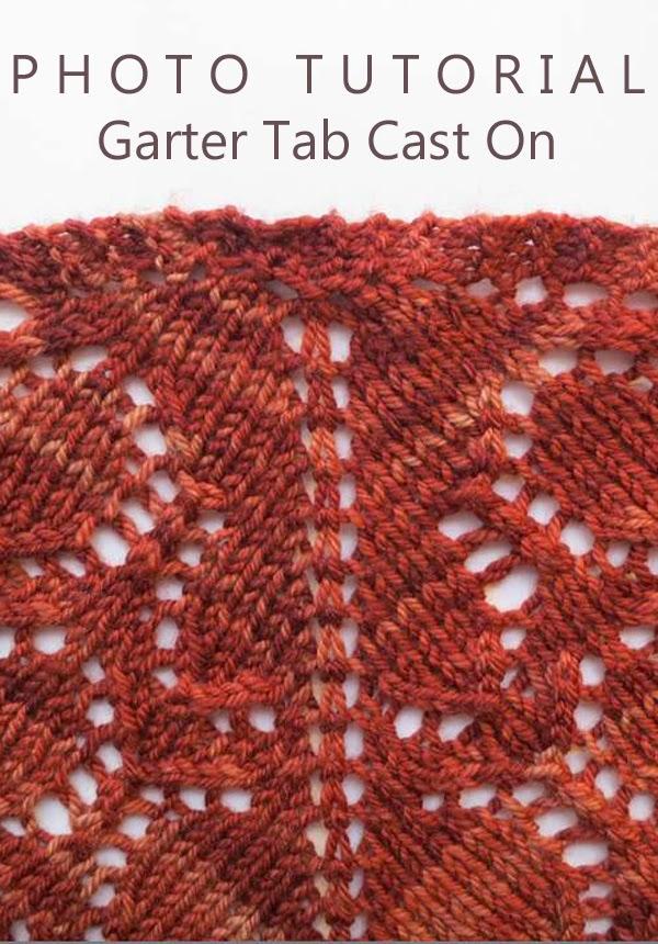 Knitting Casting On Tutorial : Knitting like crazy tutorial garter tab cast on
