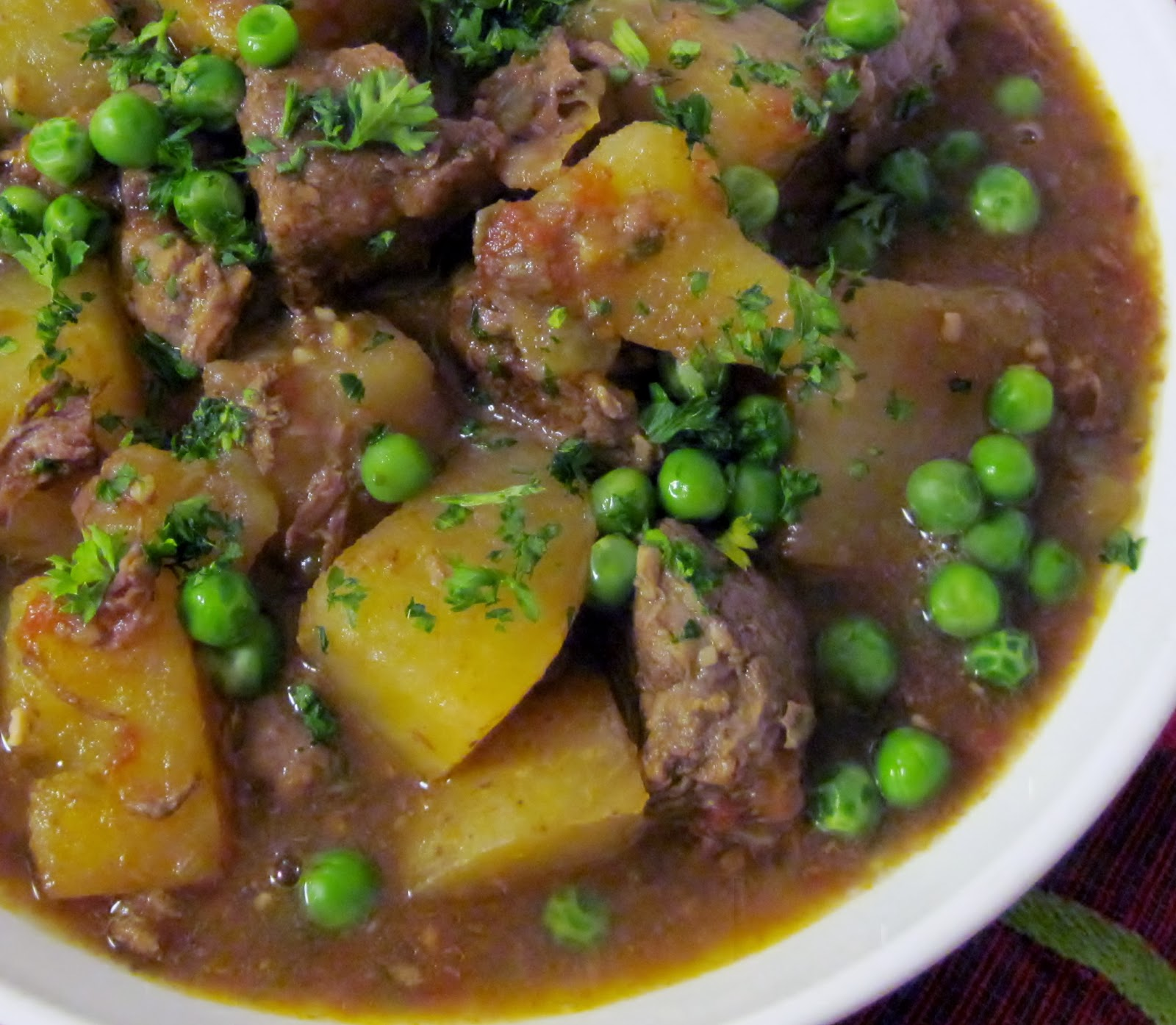 Cuban beef & potato stew