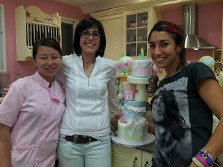 curso de tarta de los ositos traviesos: con Alma Obregon
