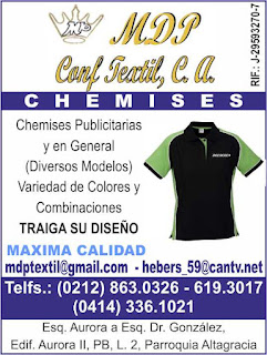 MDP CONFECCION TEXTIL, C.A. en Paginas Amarillas tu guia Comercial