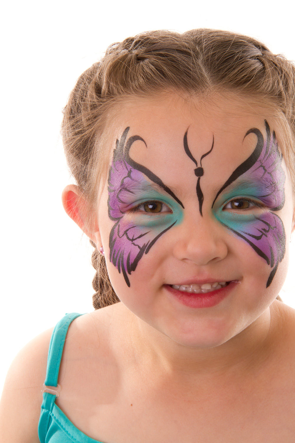 Gallery for simple fairy face paint for Fairy painting easy