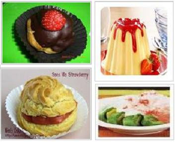 Vla Strawberry | Resep Kue Masakan dan Minuman Cara