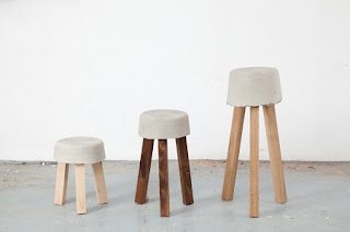 Taburetes de Madera Reciclada, Muebles Ecoresponsables