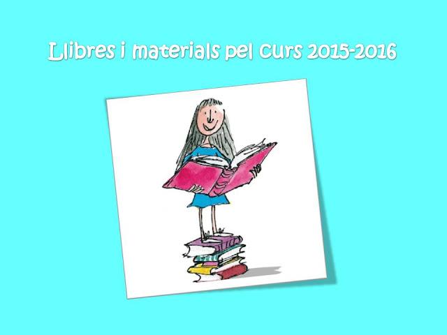 Llibres i materials