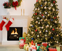 http://www.ieyenews.com/2011/12/an-old-fashioned-christmas-holiday/christmas-tree-with-presents-and-fireplace-with-stockings/