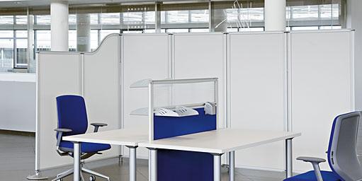 Hogar decora decorar la oficina con mamparas for Mamparas para dividir ambientes