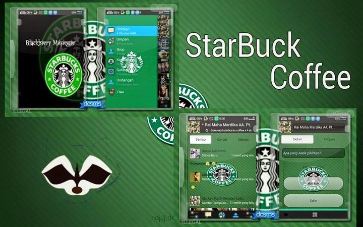 BBM Mod StarBuck Cofee 2.6.0.30