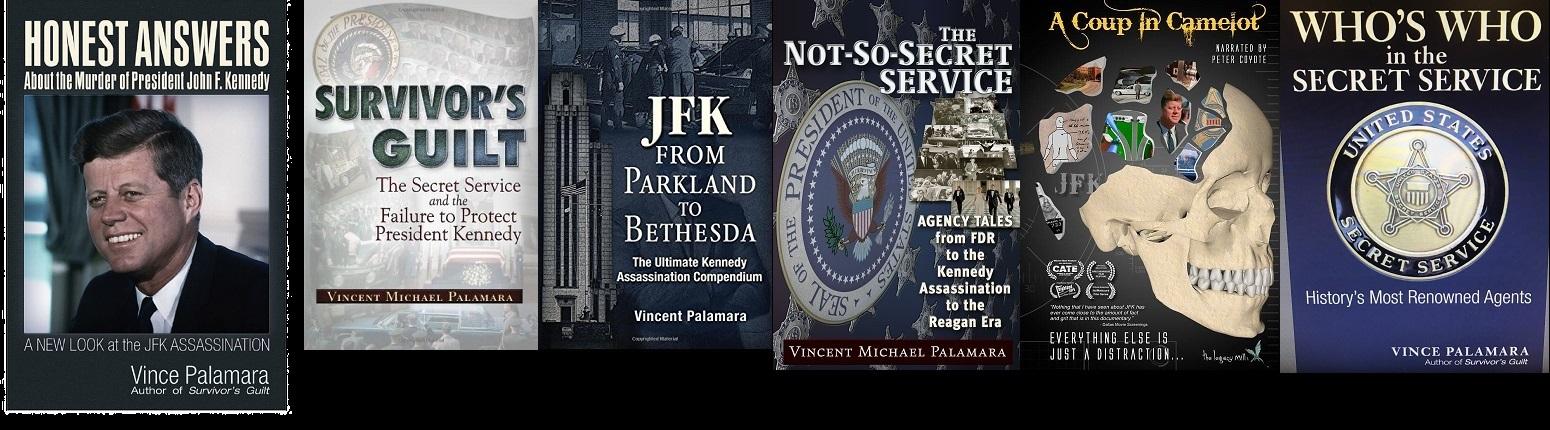 Vince Palamara- author of 5 BOOKS
