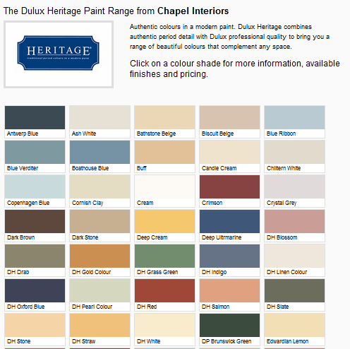 Price Of Dulux Heritage Paint