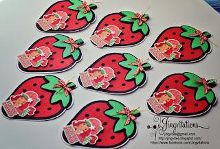strawberry shortcake birthday party invitations