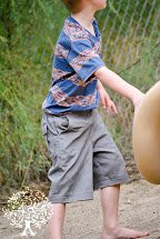 Barefoot Boys On Playground