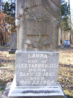 Laura Martin Yarbrough Headstone