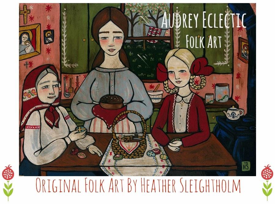 Audrey Eclectic Folk Art