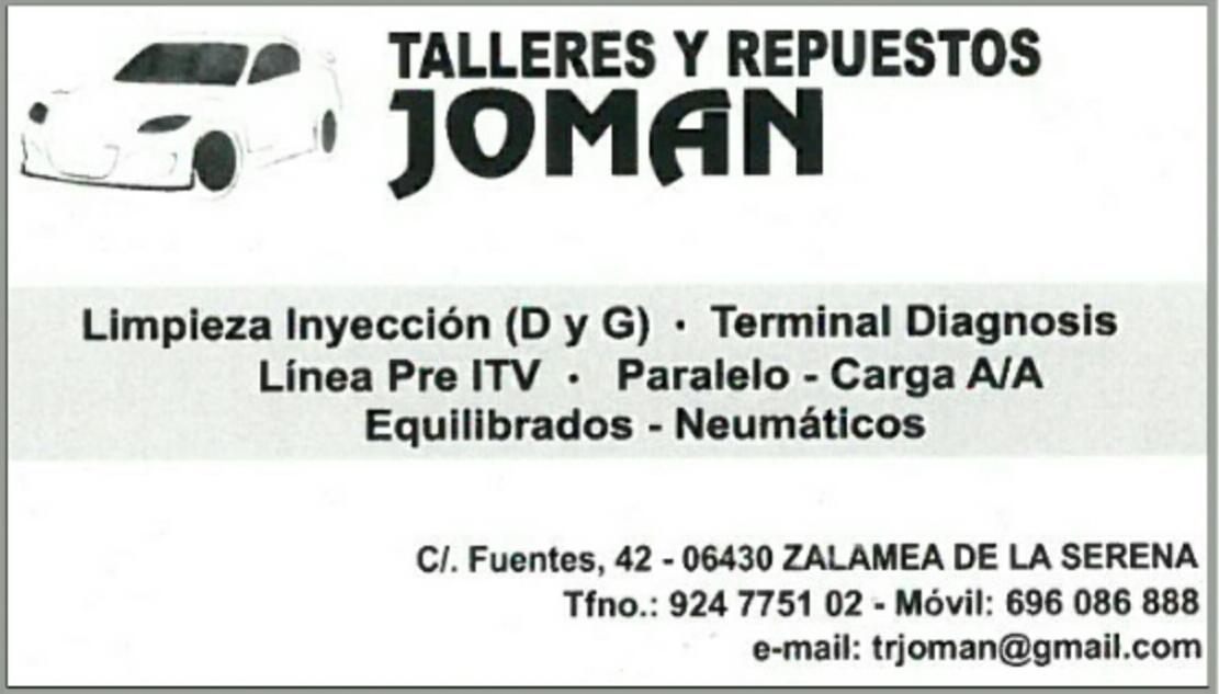 TALLERES JOMAN