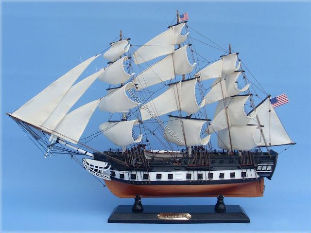 USS Constitution Model Boat