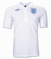 Euro 2012 England Home Jersey