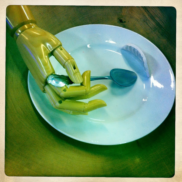 Assiette pour faignant