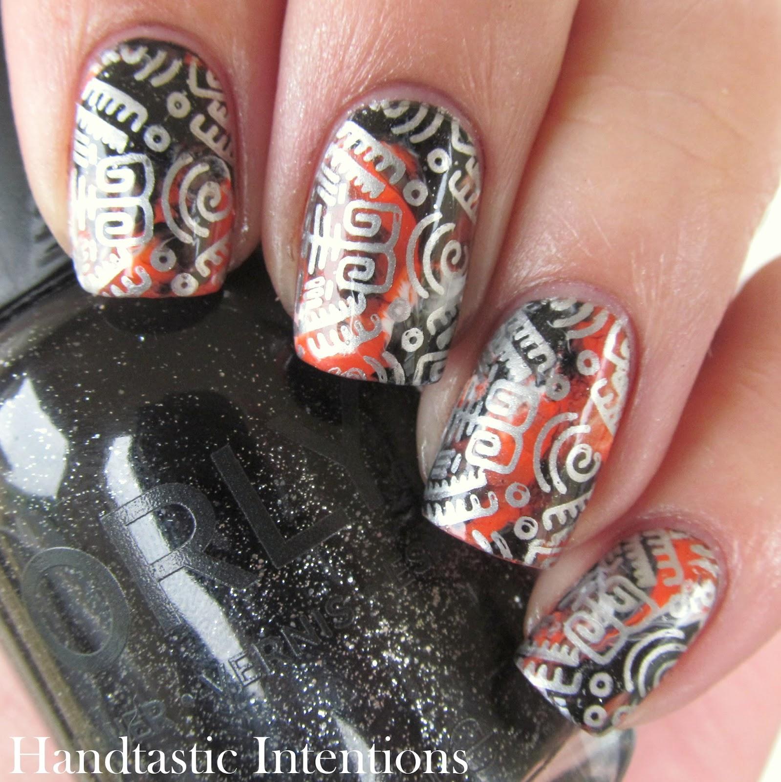 Halloween-Nail-Stamping