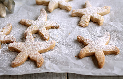 Sweet Starfish Shortbread Cookies