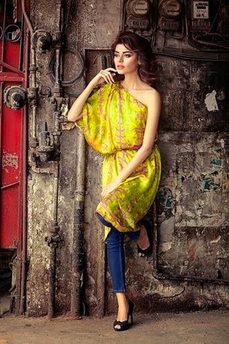 Sana Safinaz Winter Dress Collection 2014