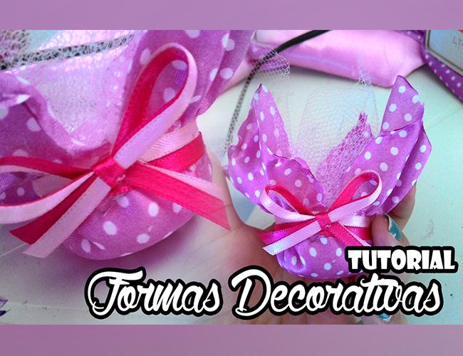 Aprenda a fazer forminhas decorativas para aniversários e casamentos