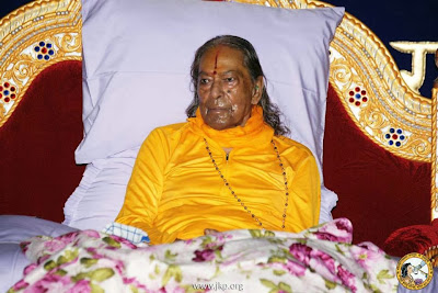 Jagadguru Kripalu Ji Maharaj at Sadhana Shivir Program 2013 in Mangarh