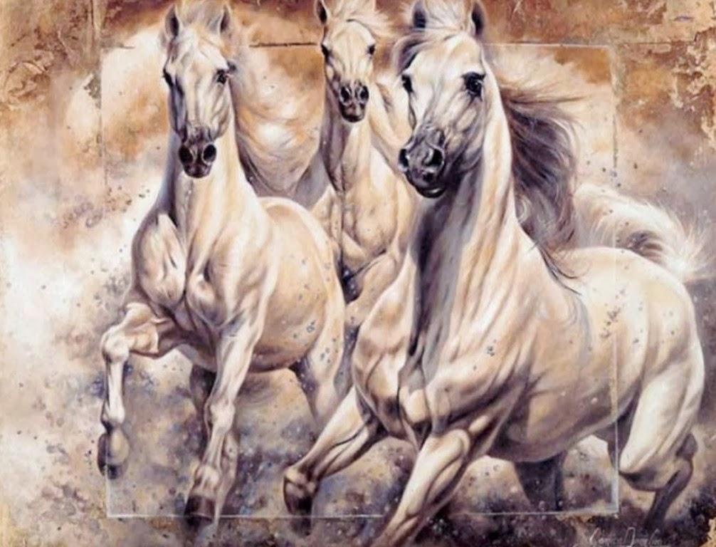 Cuadros modernos pinturas y dibujos lienzos al leo de for Lienzos para salon modernos