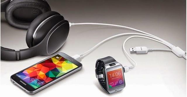 Samsung ra mắt cáp sạc ba thiết bị cùng lúc