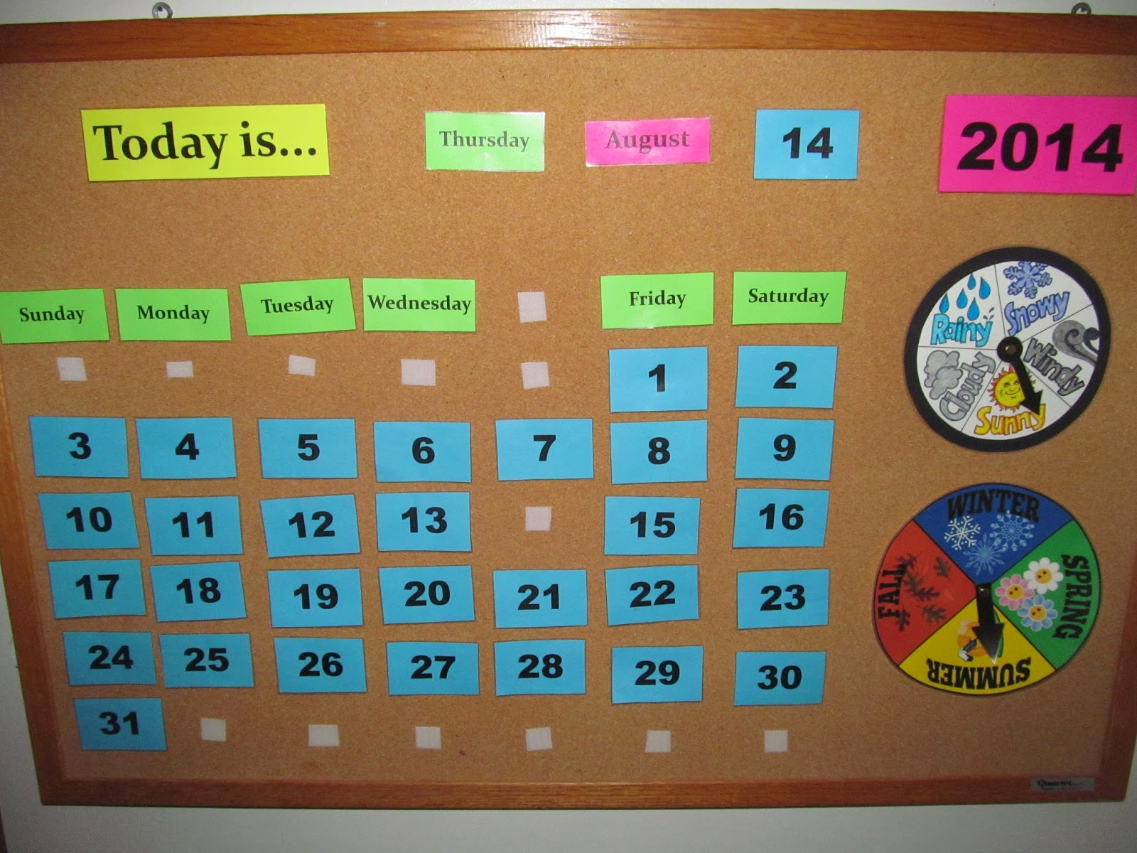 Forum on this topic: How to Make a Calendar Board and , how-to-make-a-calendar-board-and/