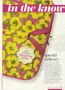 Vonny Casserole Carrier in Woman's Day