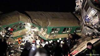 شاهد صور وتفاصيل فديو حادث قطار البدرشين اليوم الثلاثاء 15 يناير