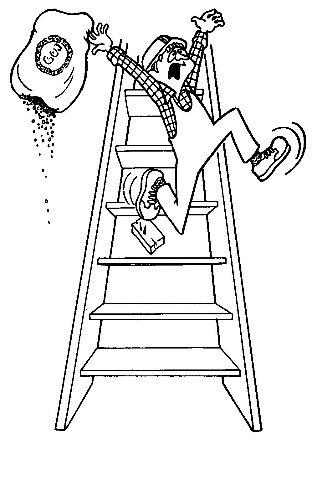 Health & Safety Coloring Pages | Picture For Educational Coloring Pages