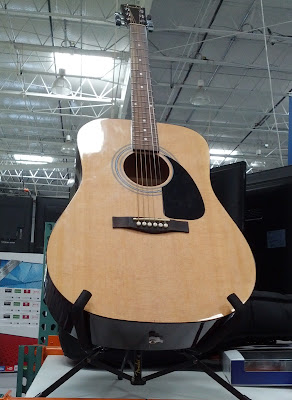 Learn how to play the guitar with the Fender FA-100 Acoustic Guitar
