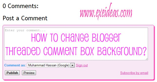 how to add comments box in php